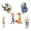 Disney 6 Pin Set - Zootopia - Judy and Friends