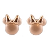 Disney Rebecca Hook Earrings - Minnie Mouse Icon - Rose Gold