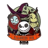 Disney Halloween Pin - 2018 Halloween Day Lock Shock Barrel