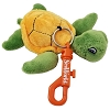 SeaWorld Plush Keychain - Sea Turtle