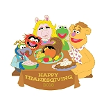 Disney Thanksgiving Pin - Happy Thanksgiving 2018 - Muppets
