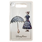 Disney 2 Pin Set - Mary Poppins Returns - Dress and Umbrella
