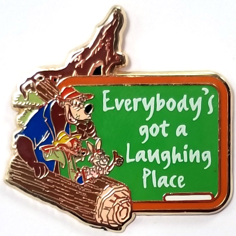 Disney GenEARation D Event Mystery Pin - Life Lessons Splash Mountain Chaser