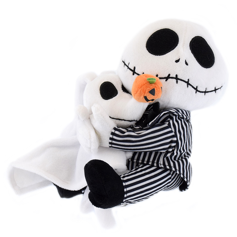 disney plush nightmare before christmas jack skellington and zero