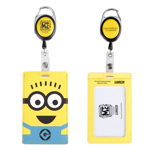 Universal ID Tag Reel -  Despicable Me Two Eye Minion
