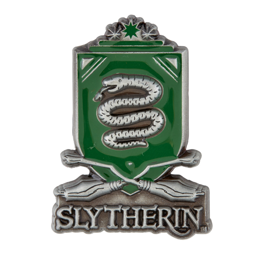 Universal Pin - Sculpted Slytherin Quidditch Crest