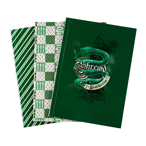 Universal Notebook Set - Harry Potter - Slytherin House