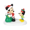 Disney Village Figure - A Gift From Mickey