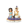 Disney Salt and Pepper Shakers - Aladdin and Jasmine