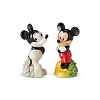 Disney Salt and Pepper Shakers - Mickey Then and Now