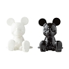 Disney Salt and Pepper Shakers - Black and White Mickey