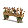 Disney Traditions - Musical Seven Dwarfs Log