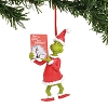 Universal Ornament - Dr. Seuss Grinch - Grinch with Book