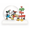 Disney Snowglobe - Holiday Mickey and Minnie Ice Skate