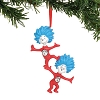 Universal Ornament - Dr. Seuss - Thing 1 Thing 2 Ornament