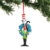 Universal Ornament - Dr. Seuss - Cat in The Hat with Wreath