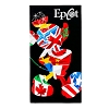Disney Beach Towel - Epcot Mickey Flags Silhouette