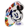Disney Magnet - Epcot Mickey Flags