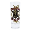 Disney World Tall Shooter Shot Glass - Pirates of the Caribbean - Clear