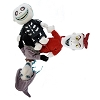 Disney Plush - NIghtmare Before Christmas - Lock Shock Barrel Trio