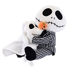 Disney Plush - NIghtmare Before Christmas - Jack Skellington and Zero