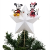 Disney Christmas Tree Topper - Mickey and Minnie Light-Up - 2018