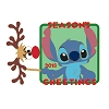 Disney Holiday Pin - 2018 Season's Greeting Stitch
