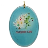 Universal Disc Ornament - The Grinch - He Invented the Naughty List