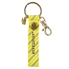 Universal Keychain - Hufflepuff Faux-Leather with Charm
