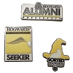 Universal Pin Set - Harry Potter Alumni - Hufflepuff