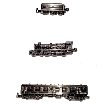 Universal Pin Set - Harry Potter - Hogwarts Express Train