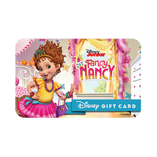 Disney Collectible Gift Card - Fancy Nancy