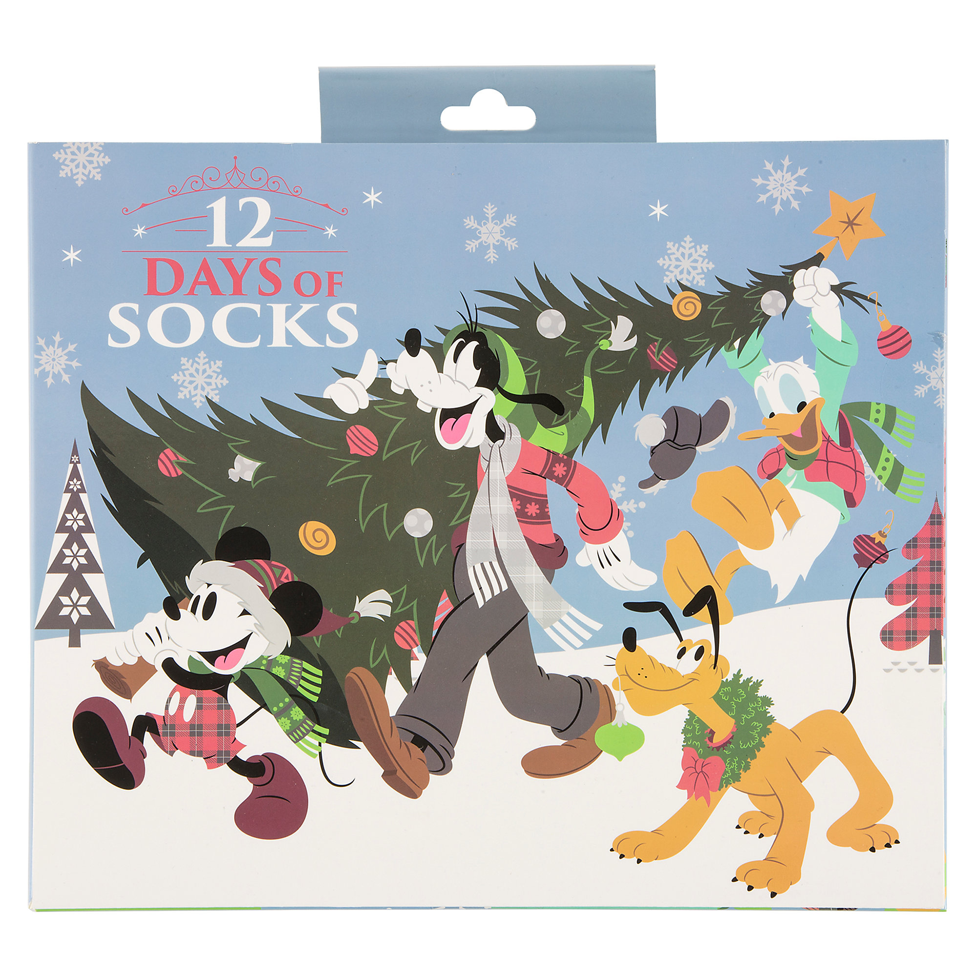 Disney 12 Days Of Christmas.Disney Adult Socks Holiday 2018 12 Days Of Socks