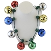 Disney Holiday Lanyard Necklace - Light Up Mickey Mouse Jingle Bells