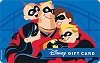 Disney Collectible Gift Card - An Incredible Family