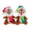 Disney Stuffed Animal Plush - Holiday 2018 - Santa's Elves Chip & Dale 6.5''
