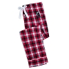 Disney Ladies Lounge Pants - Holiday 2018 - Minnie Mouse Plaid - White
