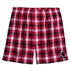 Disney Adult Lounge Shorts - Holiday 2018 - Mickey Mouse Plaid