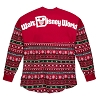 Disney Adult Shirt - Walt Disney World Spirit Jersey - Holiday 2018 Christmas Snowflakes - Red