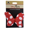 Disney Pet Tails Collar Accessory - Minnie Mouse Bow