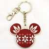 Disney Keychain - Holiday 2018 - Mickey Mouse Ornament Red / Green