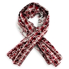 Disney Adult Scarf - Holiday 2018 - Reversible Mickey Mouse Ears Icons Red Black