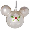 Disney Mickey Ears Ornament - Meet Me Under the Mistletoe