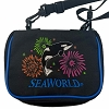 SeaWorld Pin Bag - Orca Whale Fireworks Small Pin Bag