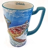 SeaWorld Coffee Cup Mug - Underwater Sea Turtle