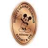 Disney Pressed Penny - Grand Floridian - Mickey