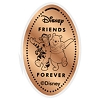 Disney Pressed Penny - Tigger & Pooh Friends Forever