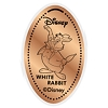 Disney Pressed Penny - White Rabbit with Umbrella