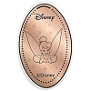 Disney Pressed Penny - Tinker Bell Head on Hands