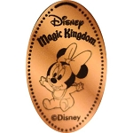 Disney Pressed Penny - Baby Minnie Sitting